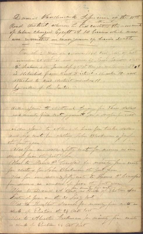 Record Book of Berkshire Township No. 2 1807-1843 (p. 105)
