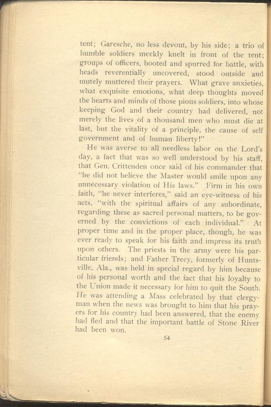 Major-General William Stark Rosecrans (p. 58)