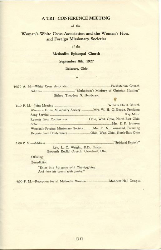 Tri-Conference Program (p. 15)