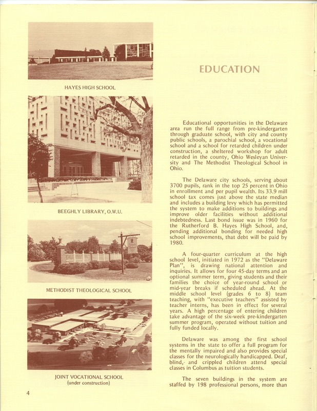 Welcome to Delaware, Ohio (1973) (p. 6)