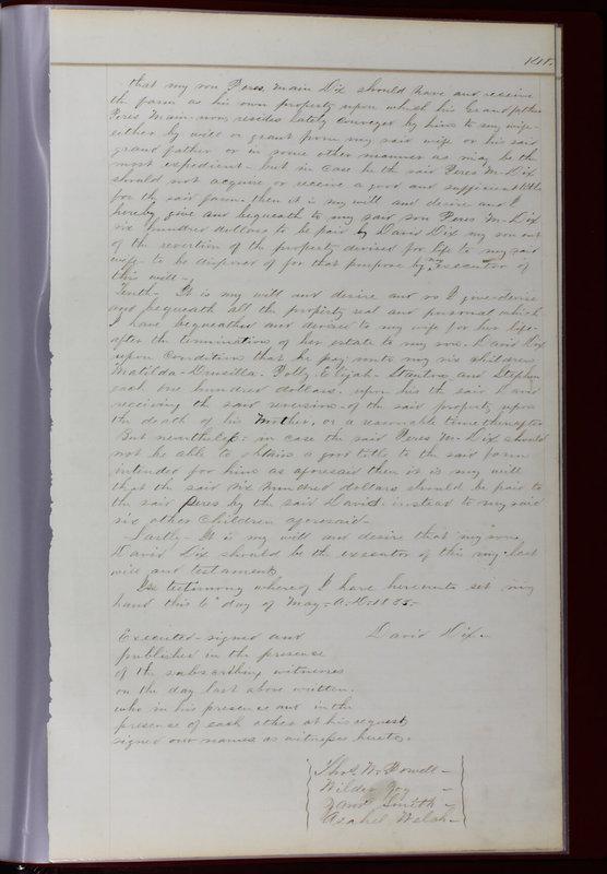 Delaware County Ohio Will Records Vol. 1 1812-1835 (p. 173)