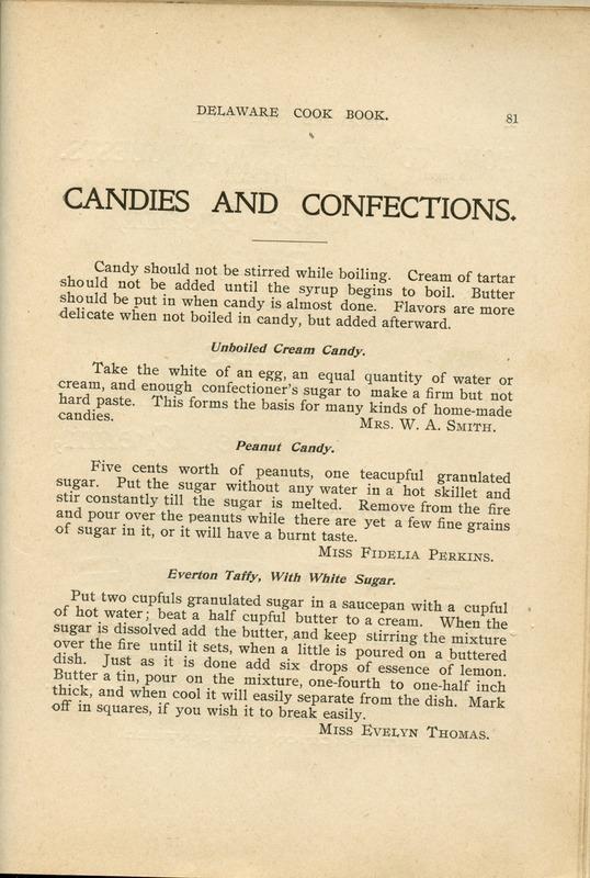Delaware Cook Book (p. 86)