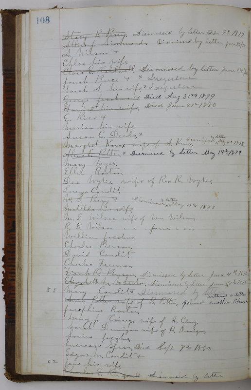 Sessional Records of the 1st Presbyterian Church of Trenton Delaware County Ohio 1873-1937 (p. 100)