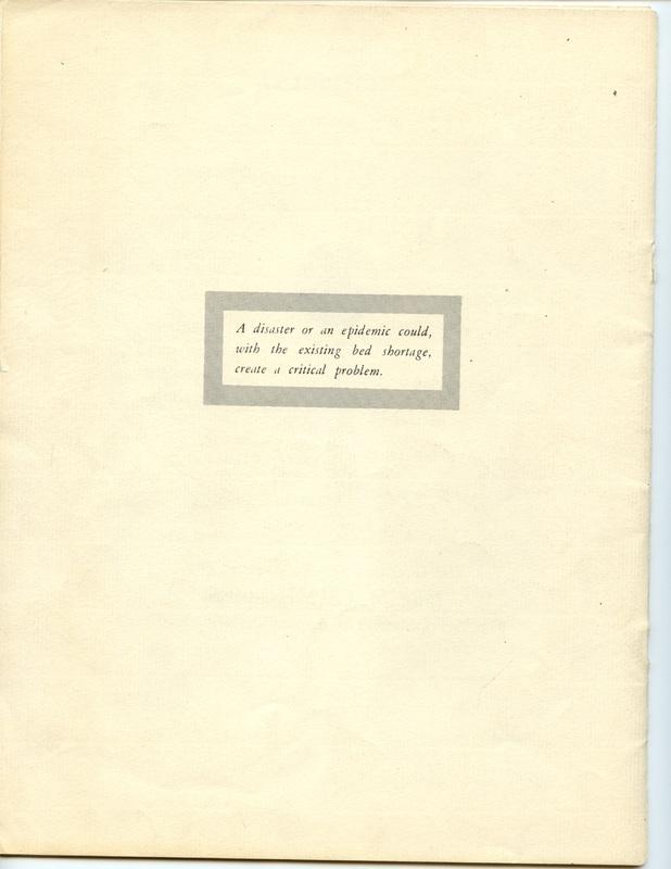 The Jane M. Case Hospital Building Campaign (p. 19)