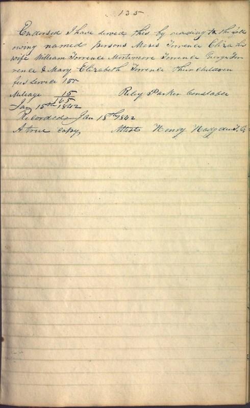 Record Book of Berkshire Township No. 2 1807-1843 (p. 149)