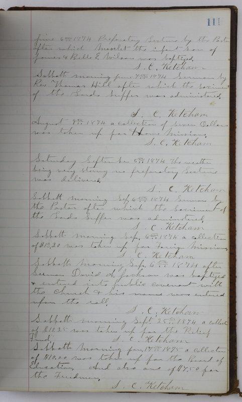 Sessional Records of the 1st Presbyterian Church of Trenton Delaware County Ohio 1873-1937 (p. 103)