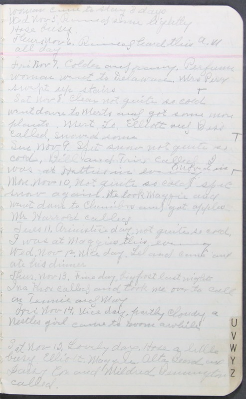 Roberta Hopkins' Journal 1941-1943 (p. 13)