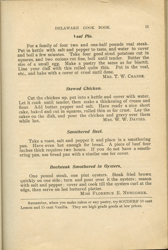 Delaware Cook Book (p. 20)