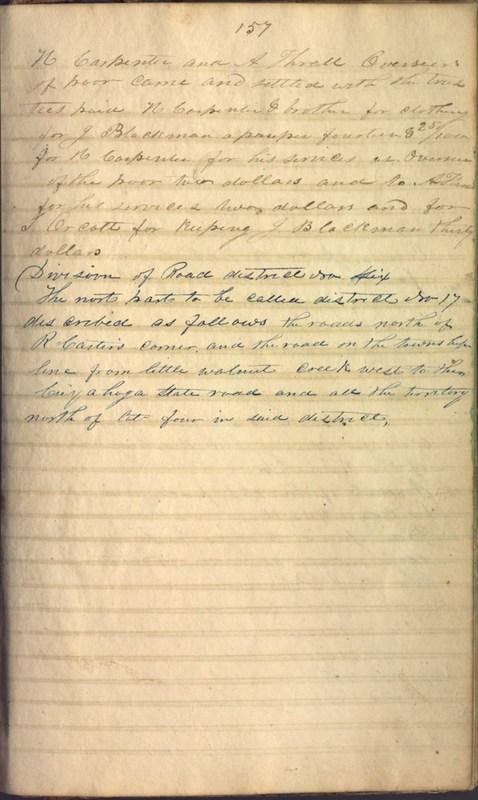 Record Book of Berkshire Township No. 2 1807-1843 (p. 171)