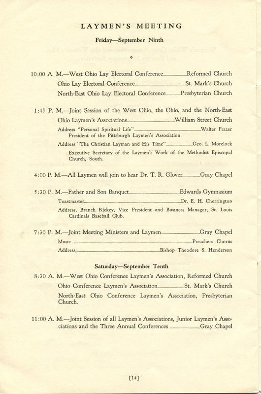 Tri-Conference Program (p. 16)