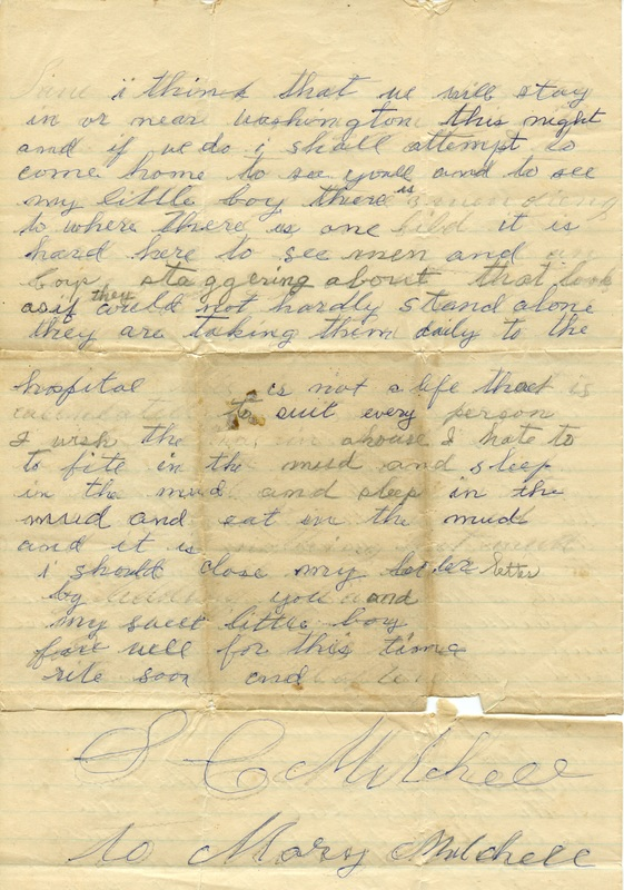 Mitchell Family Civil War Letters (p. 25)