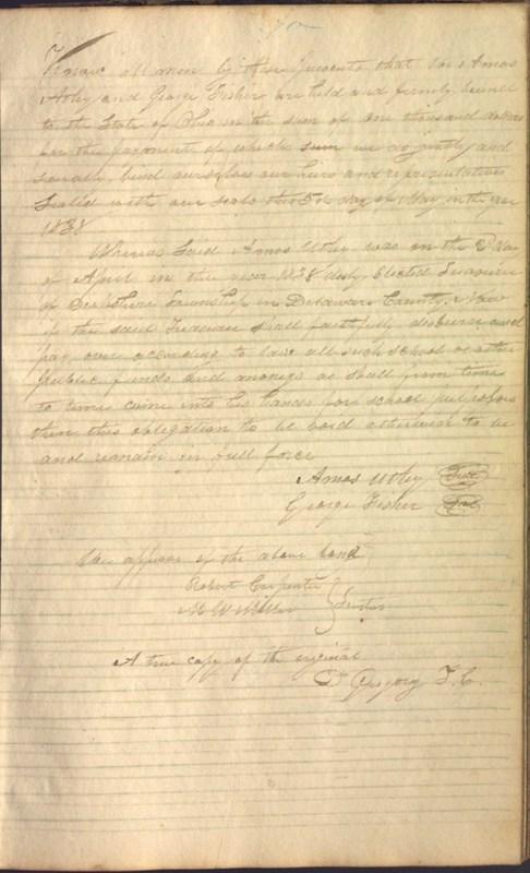 Record Book of Berkshire Township No. 2 1807-1843 (p. 83)