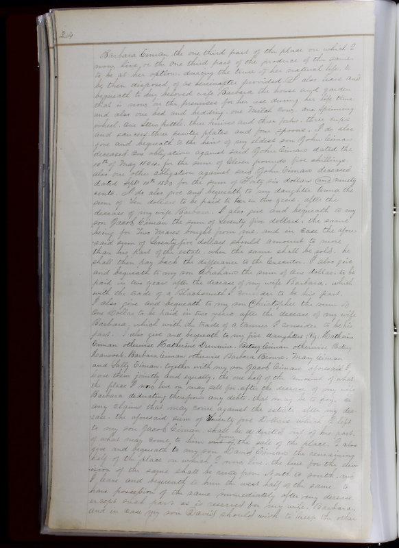 Delaware County Ohio Will Records Vol. 1 1812-1835 (p. 56)