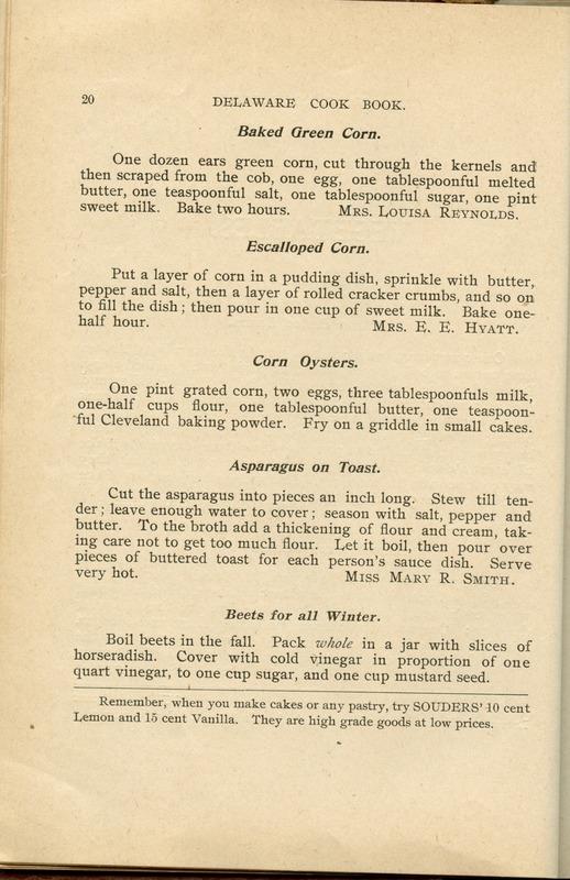 Delaware Cook Book (p. 25)