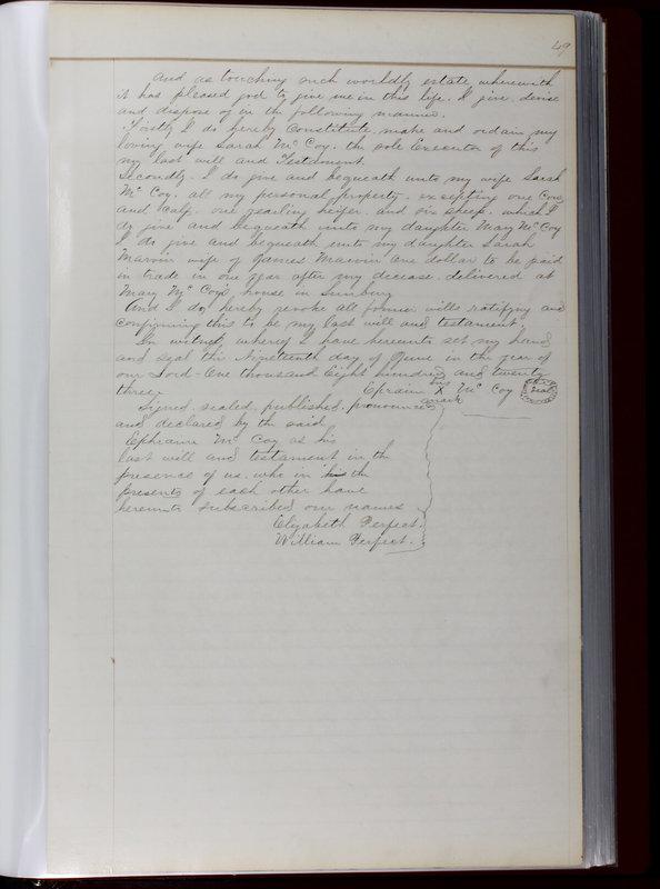 Delaware County Ohio Will Records Vol. 1 1812-1835 (p. 81)