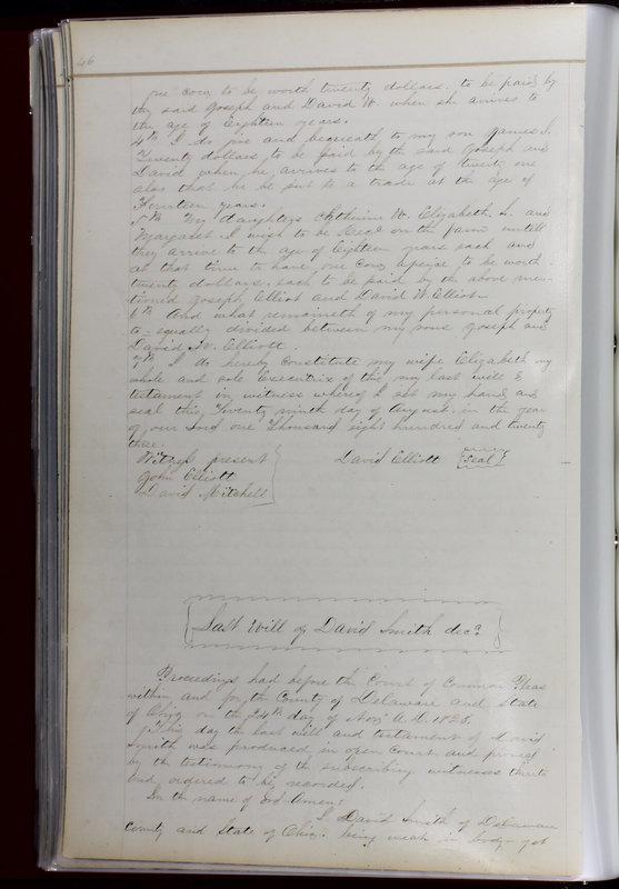 Delaware County Ohio Will Records Vol. 1 1812-1835 (p. 78)
