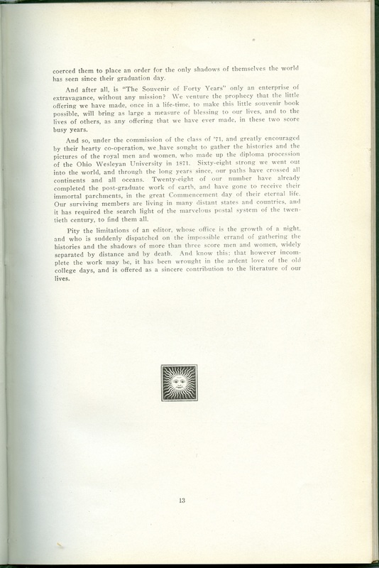 The Souvenir of Forty Years (p. 11)