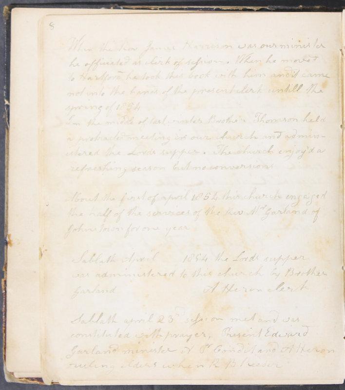 Sessional Records of the 1st Presbyterian Church of Trenton, Delaware Co., Ohio, 1831 (p. 14)