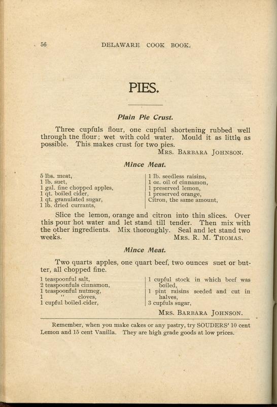 Delaware Cook Book (p. 61)