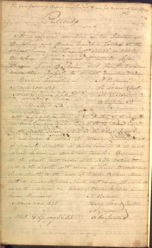 Record Book of Berkshire Township No. 2 1807-1843 (p. 78)
