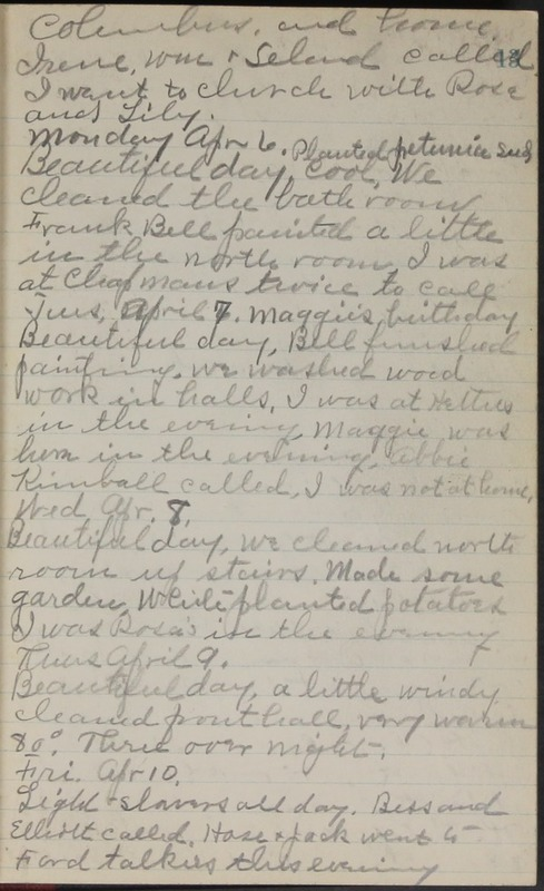 Roberta Hopkins' Journal, 1931-1933 (p. 16)