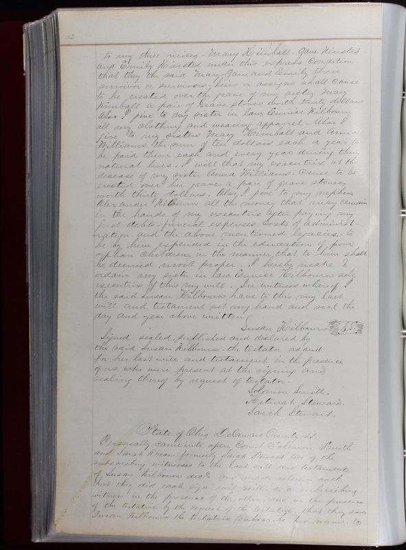 Delaware County Ohio Will Records Vol. 1 1812-1835 (p. 144)
