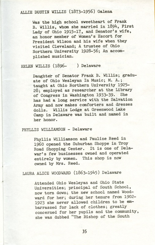 Some Delaware County Women Past and Present (p. 40)