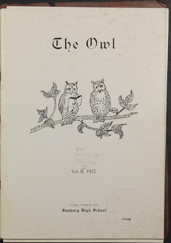 The Owl, Vol. II, 1922 (p.3)