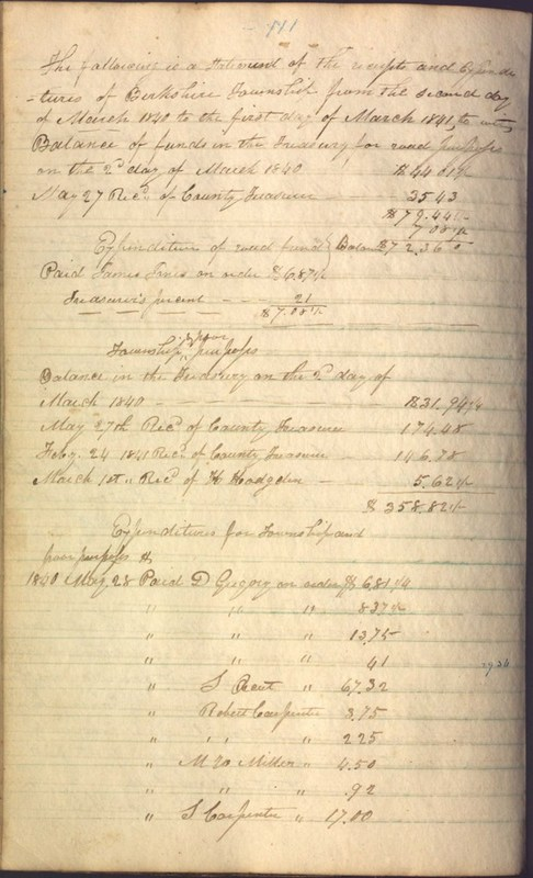 Record Book of Berkshire Township No. 2 1807-1843 (p. 124)