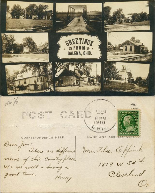 John Bricker Sr.'s Postcard Collection (p. 47)
