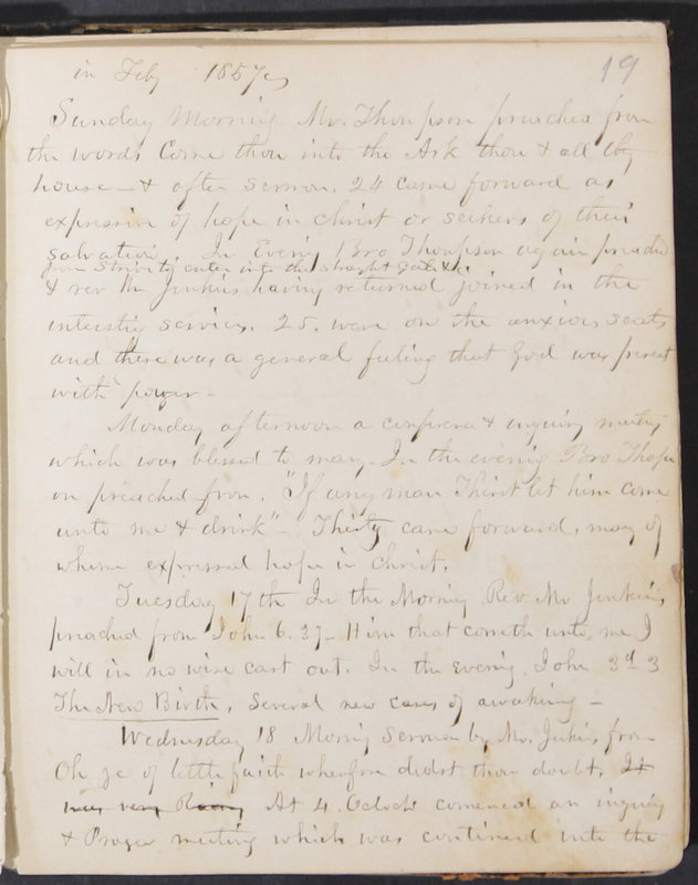 Sessional Records of the 1st Presbyterian Church of Trenton, Delaware Co., Ohio, 1831 (p. 25)