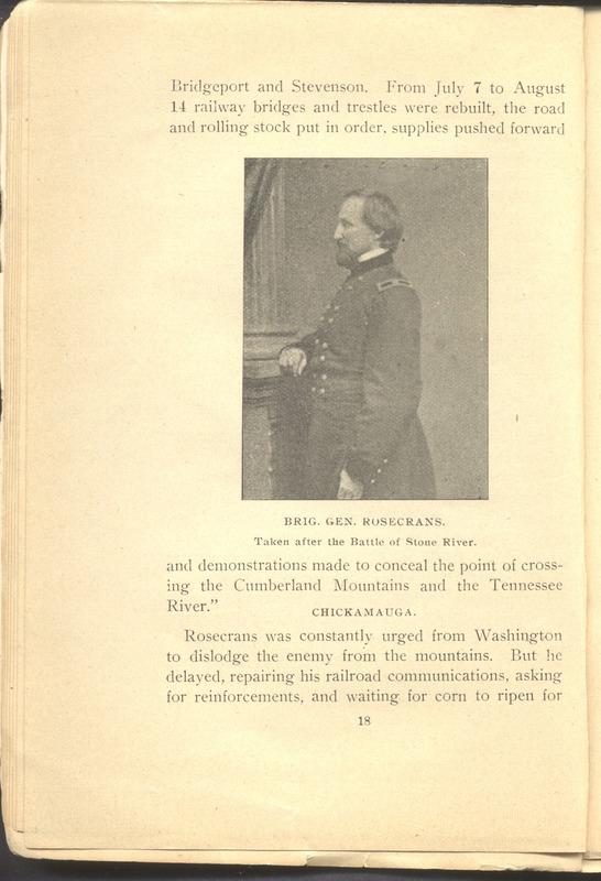 Major-General William Stark Rosecrans (p. 22)