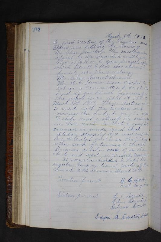 Sessional Records of the 1st Presbyterian Church of Trenton Delaware County Ohio 1873-1937 (p. 259)