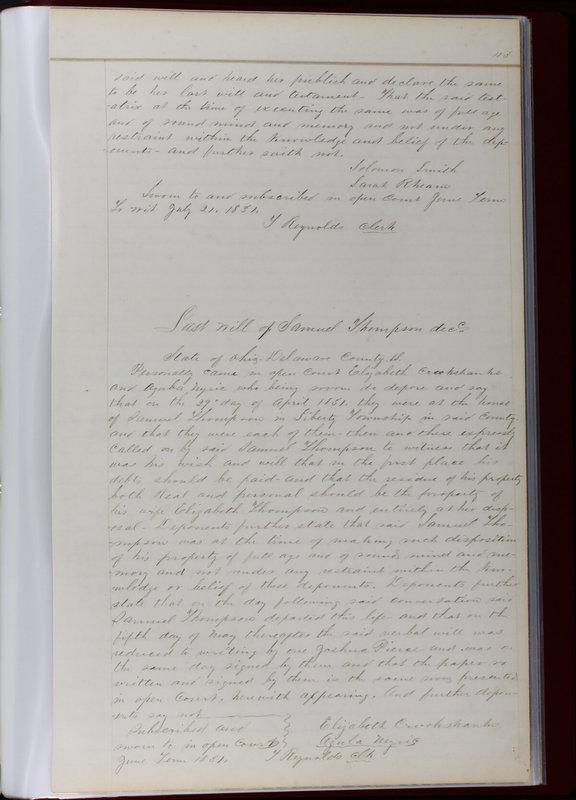 Delaware County Ohio Will Records Vol. 1 1812-1835 (p. 145)