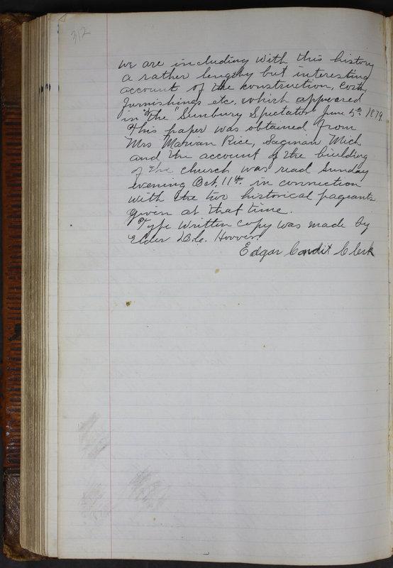 Sessional Records of the 1st Presbyterian Church of Trenton Delaware County Ohio 1873-1937 (p. 299)