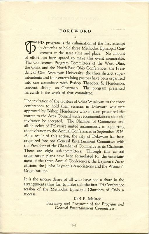 Tri-Conference Program (p. 5)