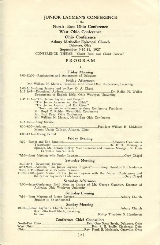 Tri-Conference Program (p. 17)
