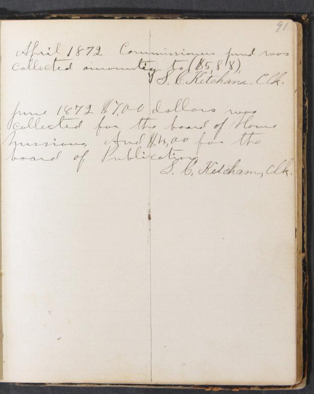 Sessional Records of the 1st Presbyterian Church of Trenton, Delaware Co., Ohio, 1831 (p. 97)
