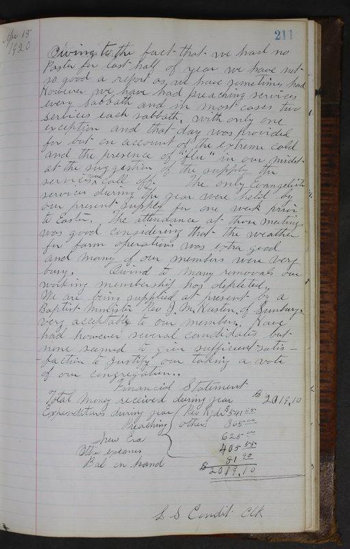 Sessional Records of the 1st Presbyterian Church of Trenton Delaware County Ohio 1873-1937 (p. 199)