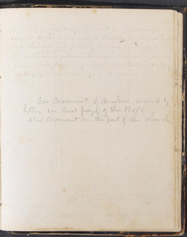 Sessional Records of the 1st Presbyterian Church of Trenton, Delaware Co., Ohio, 1831 (p. 125)