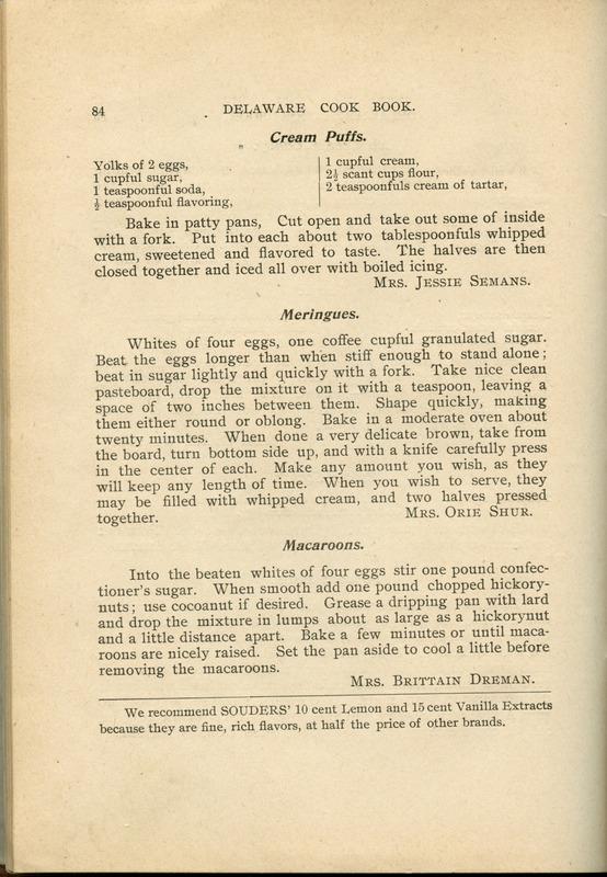 Delaware Cook Book (p. 89)