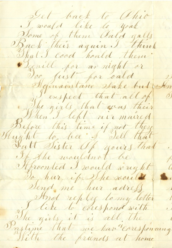 Mitchell Family Civil War Letters (p. 52)
