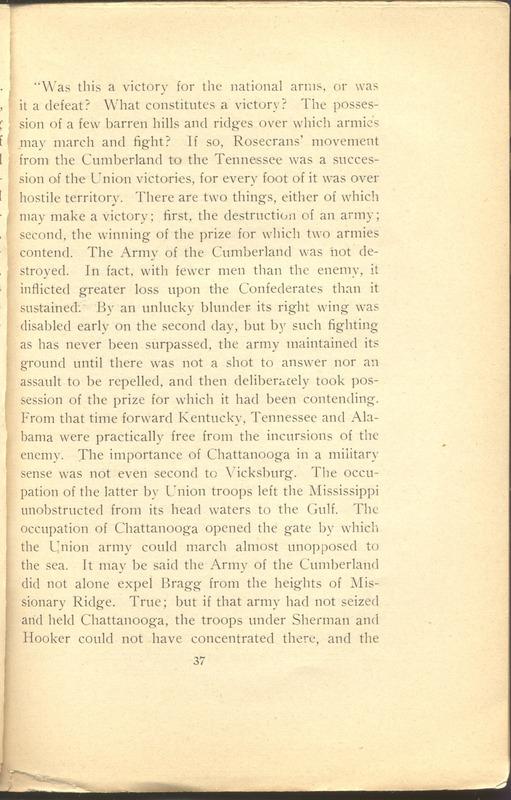 Major-General William Stark Rosecrans (p. 41)