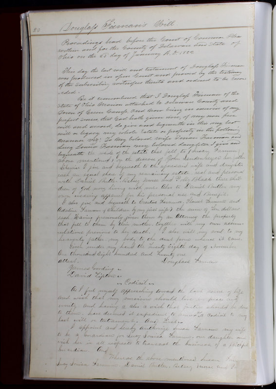 Delaware County Ohio Will Records Vol. 1 1812-1835 (p. 52)