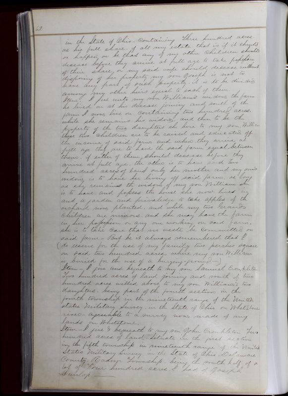 Delaware County Ohio Will Records Vol. 1 1812-1835 (p. 94)