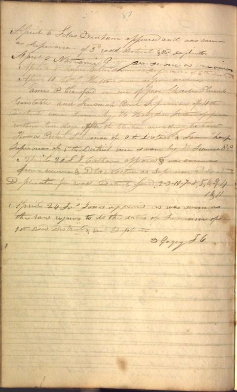Record Book of Berkshire Township No. 2 1807-1843 (p. 94)