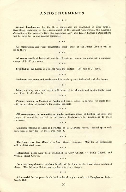Tri-Conference Program (p. 6)