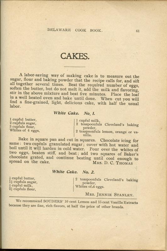 Delaware Cook Book (p. 66)