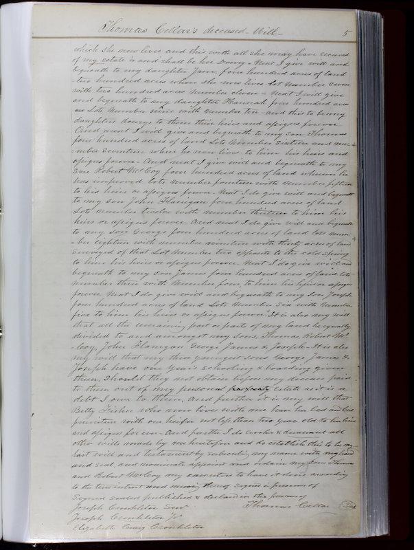 Delaware County Ohio Will Records Vol. 1 1812-1835 (p. 37)