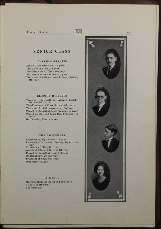 The Owl, Vol. II, 1922 (p.11)